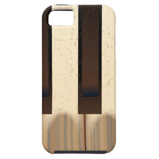Old Worn Piano Keys iPhone 5 Covers
