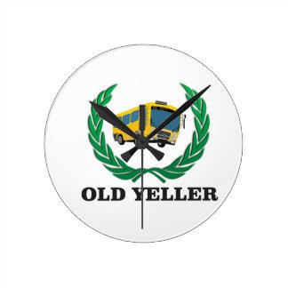 old yeller bus fun clocks