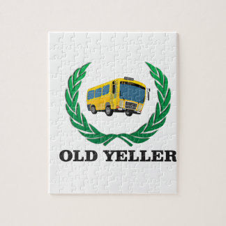 old yeller bus fun puzzle