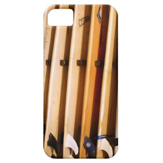 Old yellow surfboards iPhone 5 cover