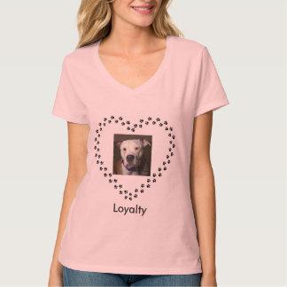 Olde English Bulldog in a heart T-Shirt