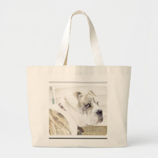 Olde english bulldogge tote bag