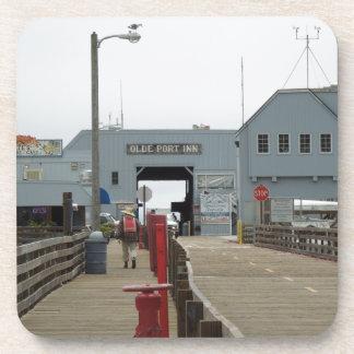 Olde Port Inn on Pier, Port San Luis in Avila Beac Beverage Coasters