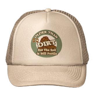 Older Than Dirt 80th Birthday Gifts Cap