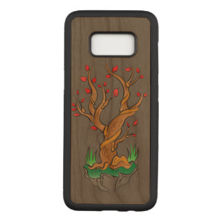 Older Tree/New Growth Carved Samsung Galaxy S8 Case