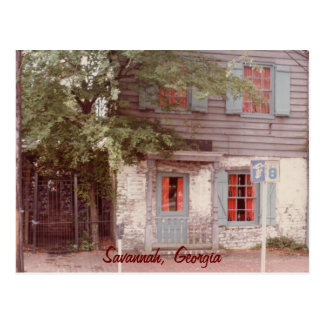 Oldest House, Savannah, Georgia Postcard