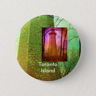 Oldest Light House in Toronto 6 Cm Round Badge