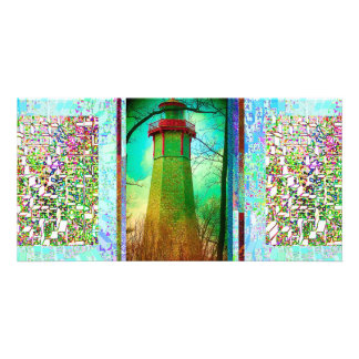 Oldest Light House in Toronto Photo Card Template