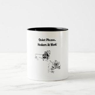 Oldest Profession Two-Tone Coffee Mug