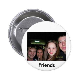 OldGroup Friends Pinback Button