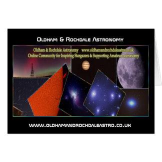 Oldham & Rochdale Astro Card! Greeting Card