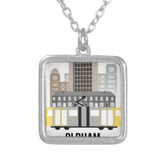 Oldham Silver Plated Necklace