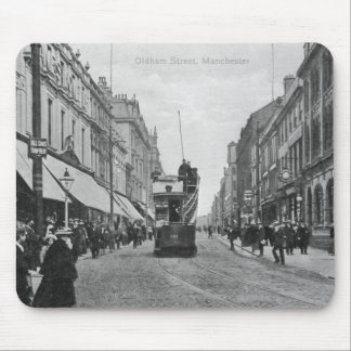 Oldham Street, Manchester, c.1910 Mousepad