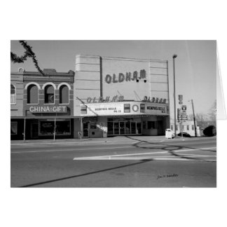 Oldham Theatre, Winchester Tennessee Card