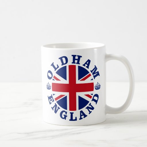 Oldham Vintage UK Design Coffee Mugs