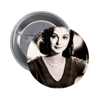 oldhollywood4 6 cm round badge