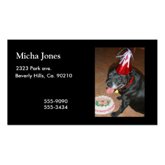 Oldie But Goodie Birthday Dog Pack Of Standard Business Cards