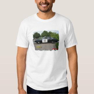 Oldie Police car T-shirt