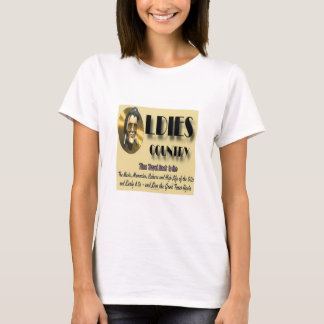 Oldies Country logo t-shirt