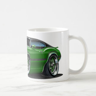 Olds Cutlass 442 Green Car Coffee Mug