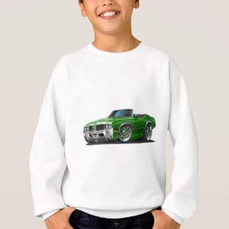 Olds Cutlass Green Convertible Sweatshirt