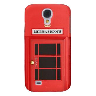 Oldschool British Telephone Booth Galaxy S4 Case