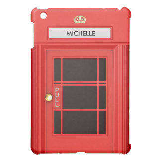 Oldschool British Telephone Booth Cover For The iPad Mini