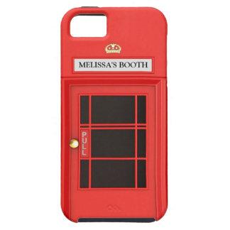Oldschool British Telephone Booth iPhone 5 Case