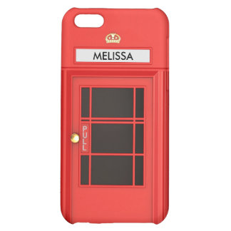 Oldschool British Telephone Booth Case For iPhone 5C