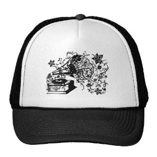 Oldschool turntable cap