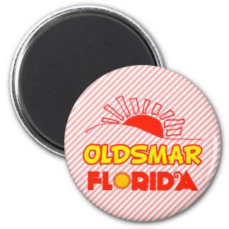 Oldsmar, Florida 6 Cm Round Magnet