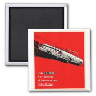 Oldsmobile 442 vintage advertisement magnet