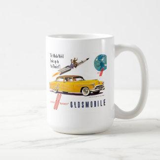 Oldsmobile  88 rocket coffee mug