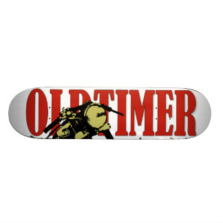 Oldtimer Bobber Skateboard Deck