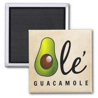 Ole Guacamole Avocado Humor Magnet