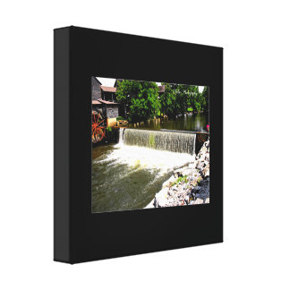 Ole Mill, Pigeon Forge, Tennessee Canvas Print
