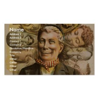 Ole Olson Retro Theater Business Card Templates