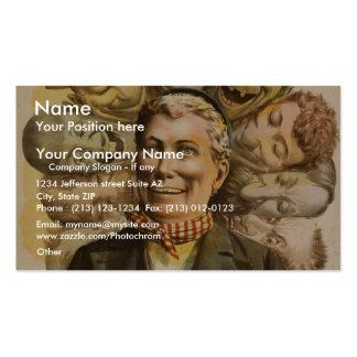 Ole Olson Retro Theater Business Card