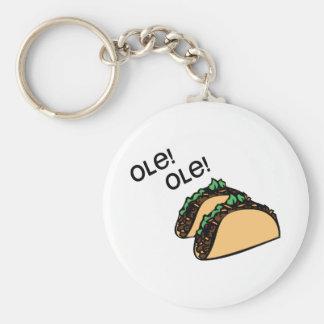 Ole Taco Key Chains
