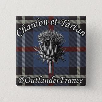 OLFrance swipes in 15 Cm Square Badge