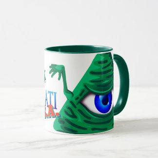 Olho Illuminati s.a. Mug
