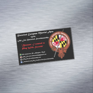OLHS Magnetic Business Cards