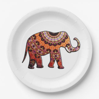 Olifant BHM Party Paper Plates