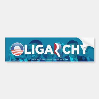 Oligarchy Anti-Obamny Bumper Sticker