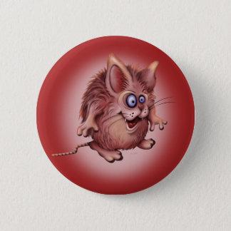 OLIO ALIEN MONSTER CARTOON Standard, 2¼ Inch 6 Cm Round Badge