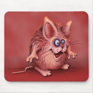 OLIO CUTE ALIEN MONSTER CARTOON MOUSE PAD