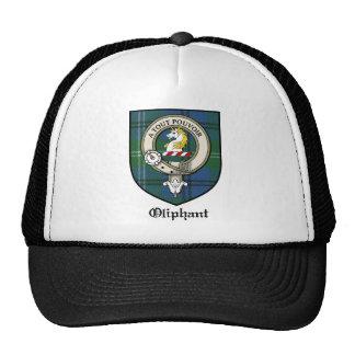 Oliphant Clan Crest Badge Tartan Cap