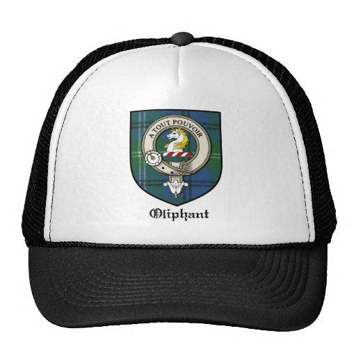 Oliphant Clan Crest Badge Tartan Hats