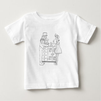 Olive and Dingo cooking up fun Baby T-Shirt