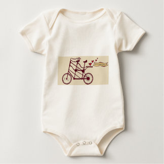 Olive and Dingo wedding swag Baby Bodysuit